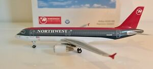 Schuco StarJets 355 7207 1:200 Airbus A320-100 Northwest Airlines N364NW