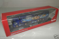 "Herpa 1:87 120883 Mo Actros L 02 Kühlkoffer-SZ"" 50 years of REVELL ""neuf dans sa boîte (eh4075)"