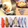 Pet Cat Kitten Chewing Cat Toys Stuffed Fish Mint Pet Interactive Kitten Product