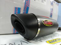 AUSPUFF COBRA HEX-OVAL BLACK PLUS SHORT EG ABE KAWASAKI ZX 9 R BJ.00-01