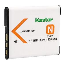 Kastar NP-BN1 Battery for Sony NP-BN1 Type N Cybershot DSC-QX10 TX10 W830 WX220