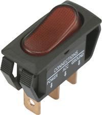 SCI Wippschalter R13-242B2 12 V/DC 25 A 1 x Aus/Ein  rastend 1 St.