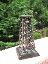 Vintage Shields Oil Tower Lighter .Rare . Art Deco. Not sparks.