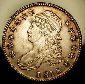 1818 Capped Bust Half Dollar - Choice XF !!