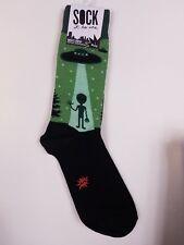 I BELIEVE socks Men's Crew Sock It To Me Aliens UFO Loot Crate Lootcrate NEW!