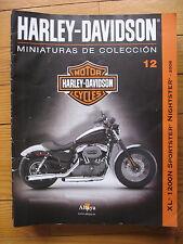 FASCICULE 12 MOTO COLECCION HARLEY DAVIDSON XL 1200N SPORTSTER NIGHTSTER 2008