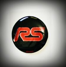 RS Line Emblem Badge for AUDI SKODA Quattro A 1 3 4 5 6 S 3 4 5 RS 3 4 TT Fabia