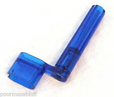 NEW YORK PRO BLUE SEE THRU GUITAR STRING WINDER - NEW!!