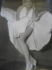 1988 Marilyn Monroe white dress classic image vintage wall poster PBX1987