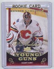 10-11 UD Young Guns YG Exclusives Henrik Karlsson Rookie Card RC #209 090/100