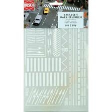 Busch Road Markings 7196 HO Scale (suit OO also)