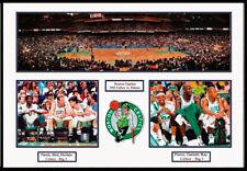 Celtics at Boston Garden, Big 3 Framed 20x28 Photo