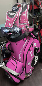 2021 Scotty Cameron Tour Bag Circle Wasabi Pink With Matching Headcovers 1 In 50