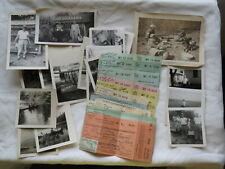 Lot Of 12 Michigan Trout Stamp 1948-1958, 1961 Signed Resident License + 17 pics