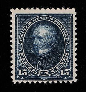 AFFORDABLE GENUINE SCOTT #274 VF-XF MINT OG NH 1895 DARK BLUE HENRY CLAY  #11720