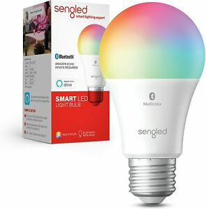 Sengled Smart Color Changing Bluetooth Mesh Dimmable LED Bulb A19 Multicolor!