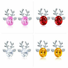 Butterfly Alloy Stud Oval Costume Earrings