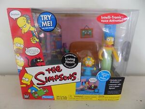 The Simpsons WOS Interactive Environment Living Room Marge & Maggie Playmates