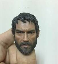 IN STOCK CUSTOM Last of us joel  Head sculpt fits HT figure body