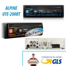 Autoradio ALPINE UTE-200BT Bluetooth USB AUX SPEDIZIONE GRATIS!