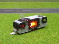 Spur N TT Wohnwagen Vollbrand Brennend 12V LED Feuer 1:160 Sonderanfertigung #49