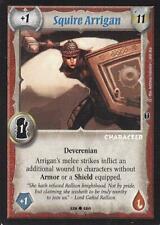 Warlord CCG - Warlord Saga of the Storm: Squire Arrigan => CE Promo BlueTitle !