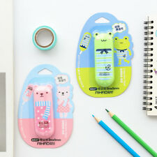 Cartoon Roller Correction Tape White Out School Office Supply Stationery New.