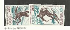 Central Africa, Postage Stamp, #C54-C55 Mint NH, 1968 Olympics, Sports