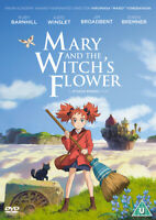 Mary and the Witch's Flower DVD (2018) Hiromasa Yonebayashi cert U ***NEW***