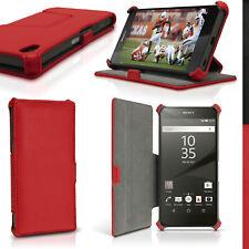 PU Cuero Funda Carcasa para Sony Xperia Z5 E6603 Piel Soporte Case Cubierta