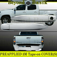 2009-2015 TOYOTA TACOMA Chrome Door Handle W/O PSK 2 DR Tailgate COVERS Overlays