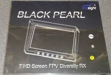 "Flysight Black Pearl 7"" HD Screen FPV Diversity RX FPV58100 NEW"