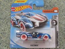 Hot Wheels 2019 #073/250 ELECTRACK chrome and blue @C