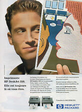 Publicité 1994   Imprimante HP DeskJet 310  HEWLETT  PACKARD