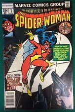 SPIDER-WOMAN #1 (1978) Marvel Comics VG+/FINE-