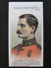 No.110 BREVET MAJOR L. HALLIDAY Victoria Cross Heroes 101-125 REPRO Taddy 1904
