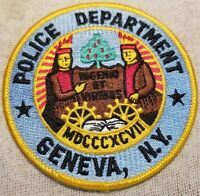 NY Geneva New York Police Patch