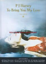 PJ Harvey TO Bring You My Love Album 1995 Magazine Advert #2587