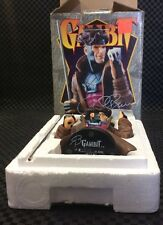 BOWEN DESIGNS GAMBIT MINI BUST Signed Box And Initialed Statue AUTOGRAPHED