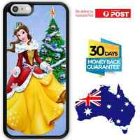 TPU Bumper Case Christmas Gift Disney Princess Anime Belle Beauty And The Beast