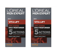 L'Oreal Men Expert Vita Lift 5 Daily Moisturiser, 1.7 oz (2 Pack)