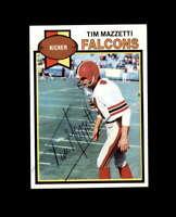 Tim Mazzetti Hand Signed 1979 Topps Atlanta Falcons Autograph