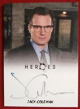 HEROES - JACK COLEMAN, Noah Bennet - Autograph Card - Rittenhouse 2010