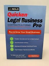 NOLO Quicken Legal Business Pro Contracts & Forms CD or Download