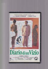 DIARIO DI UN VIZIO di Marco Ferreri con Jerry Calà VHS RARO