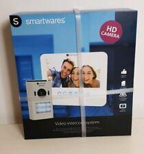 "Smartwares Video Intercom System DIC-22212 7"" Inch Monitor New"