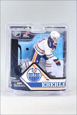 MCFARLANE NHL 32 JORDAN EBERLE WHITE VARIANT EDMONTON OILERS JERSEY ROOKIE DEBUT