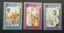 Brunei 25th Anniversary Coronation 1978 Queen Elizabeth II Royal (stamp) MNH