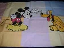 NEW Disney Store CLASSIC MICKEY MOUSE Pillow Case