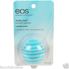 EOS Lip Balm Vanilla Mint New Evolution of Smooth Original USA Sphere 0.25 oz